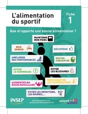 fiches nutrition insep
