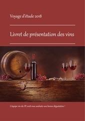 livret de presentation des vins ve 2018 1