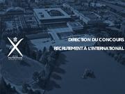 presentation concours international