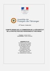 rapport commission se curite