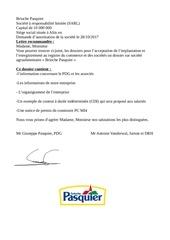 Fichier PDF entreprise