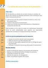 Fichier PDF ft 2017 maitrise des couts mesure de la productivite