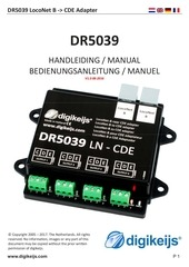 dr5039 manual multilanguage nl en de fr multi
