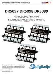 dr5097 5099 manual multilanguage nl en de fr multi 2