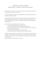 Fichier PDF reglement concours facebook daniele henkel