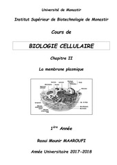 cours polycopie bio cell chap ii 1ere a isbm 2017 2018