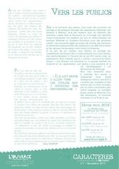 Fichier PDF newsletter