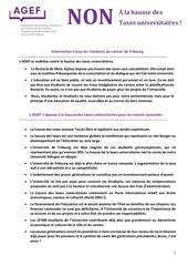 fr hausse des taxes position de l 27agef
