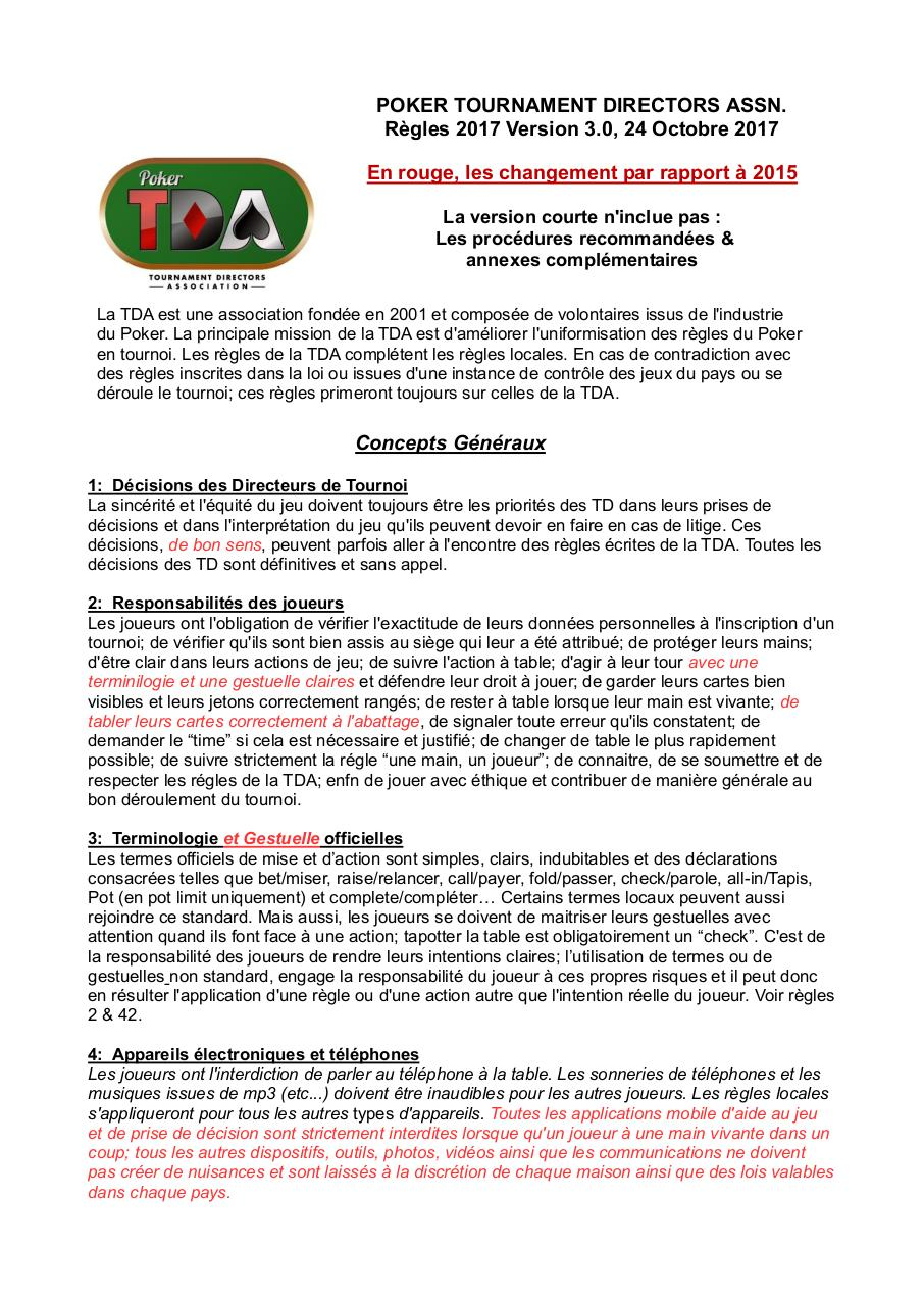 Aperçu du document Poker - TDA 2017 - Français - Version courte 3.0 - Redlines.pdf - page 1/13