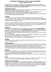 le reglement interieur novy 2017 18