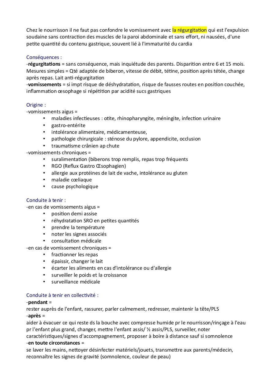 Les troubles digestifs par Marie Vanhems - Fichier PDF