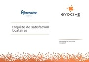 resultats enquete de satisfaction client bh