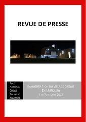 Fichier PDF revue de presse inauguration