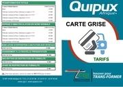Fichier PDF carte grise tarifs