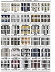 laize tissus et voilages size fabrics and sheer 1