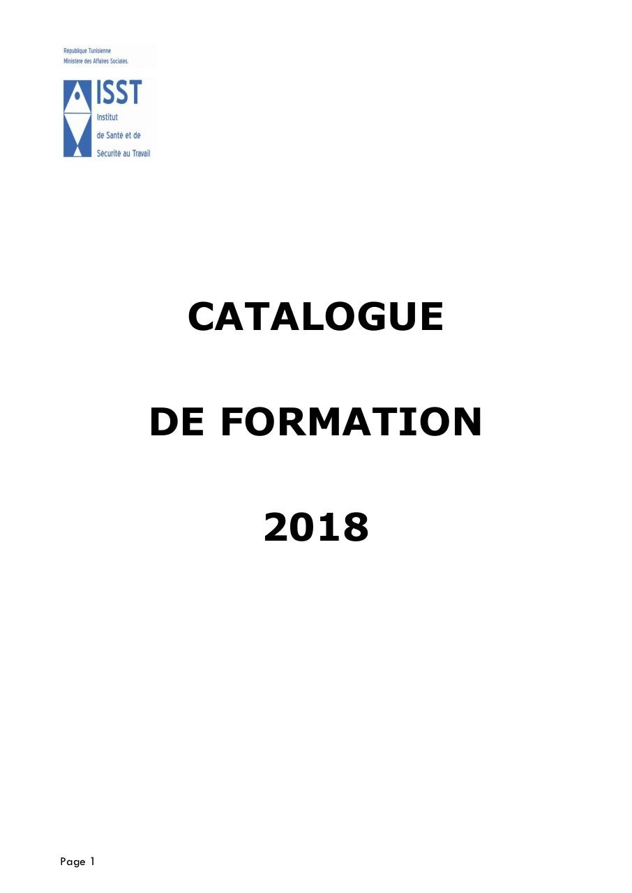 Catalogue-Manifestations-ISST-2018.pdf - page 1/40