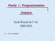 184787880 programmation lineaire ppt