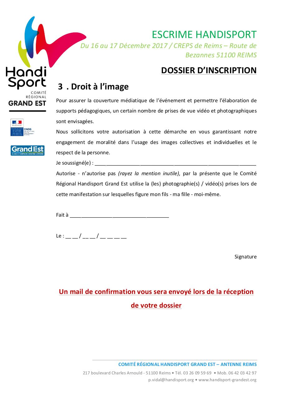 Dossier inscription - Stage Escrime.pdf - page 4/4