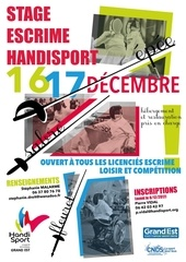 dossier inscription stage escrime