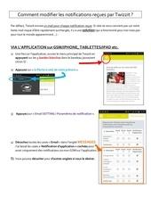 Fichier PDF supprimer notifications par mail
