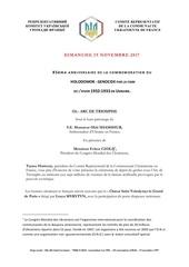 journe e holodomor novembre 2017