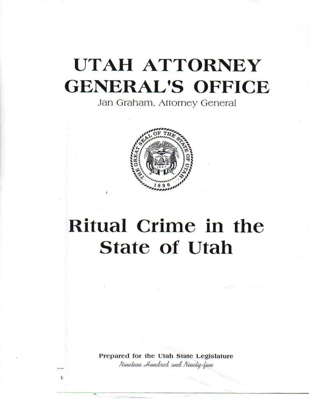Ritual crime in the state of Utah 1992.pdf - page 1/60