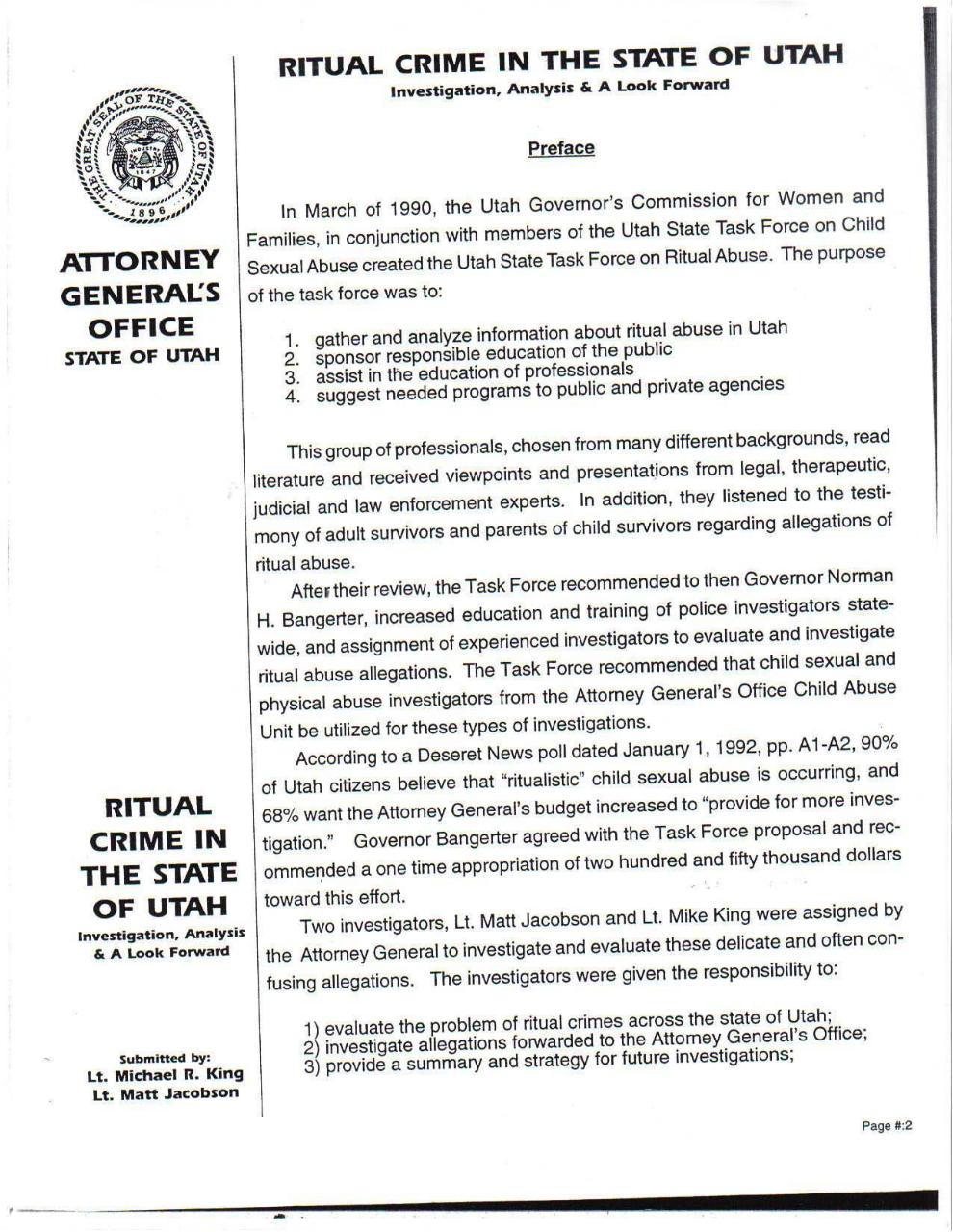 Ritual crime in the state of Utah 1992.pdf - page 3/60