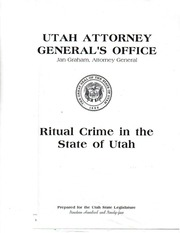 Fichier PDF ritual crime in the state of utah 1992