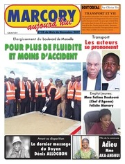 journal marcory aujourdhui de novembre 2017