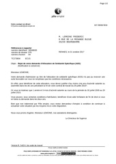 Fichier PDF rejet ass