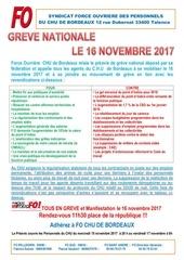 tract greves le 16 novembre 2017