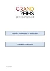 contrat de consession avec annexes