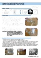laboratoire matiere condense