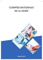 comptes nationaux de la sant rapport 2015