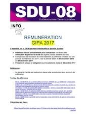 information au personnel gipa 2017
