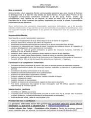 Fichier PDF offre emploi actions familles
