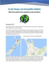 article lac taupo