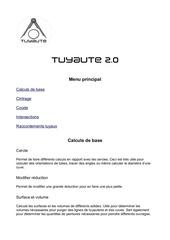 fonctionnalites tuyaute 2 0