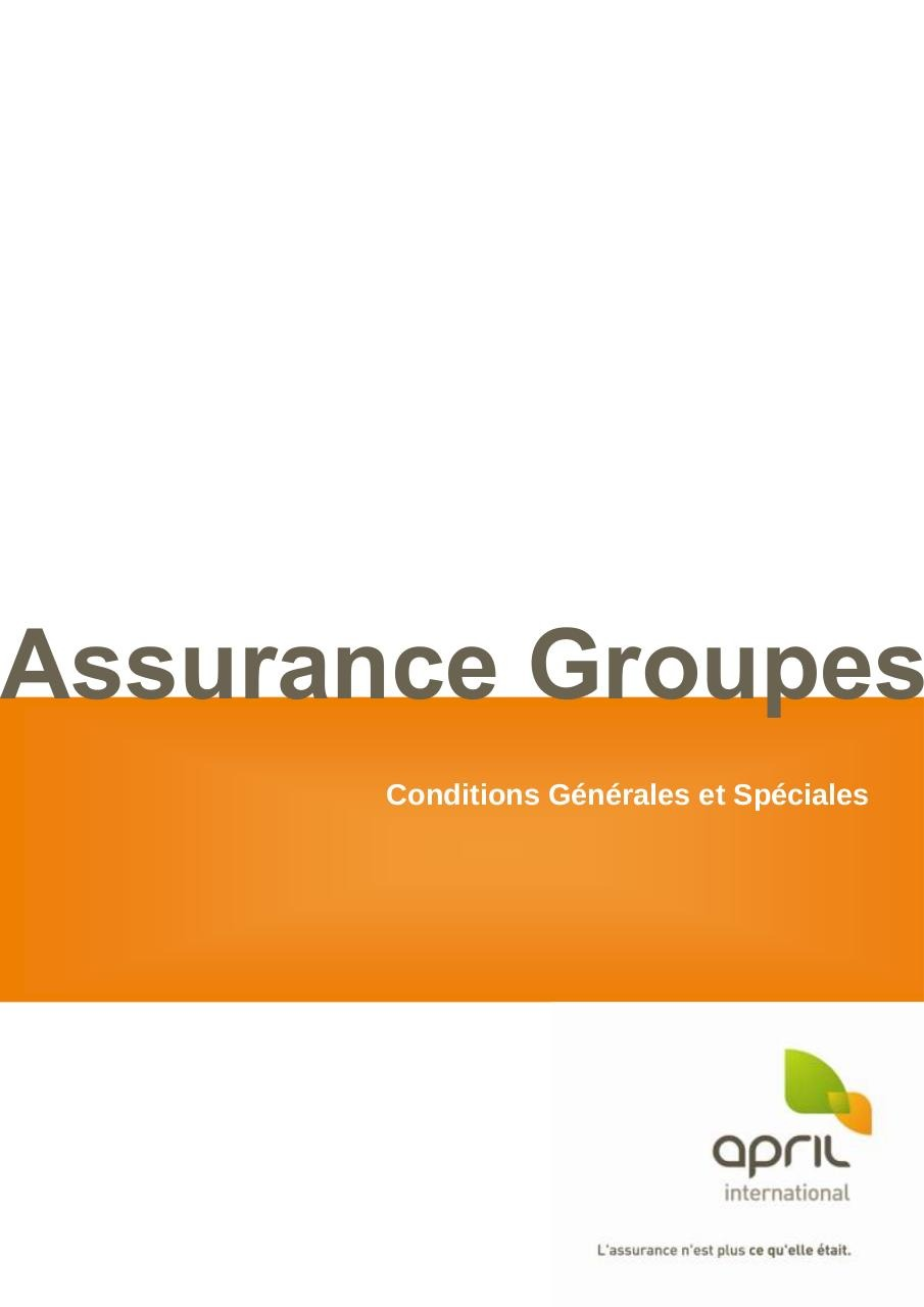 20140101 - CGS AG2 - 240 Assurance Groupes.pdf - page 1/28