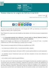 congres upr 03 05 2014