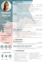 cv maureen duclou