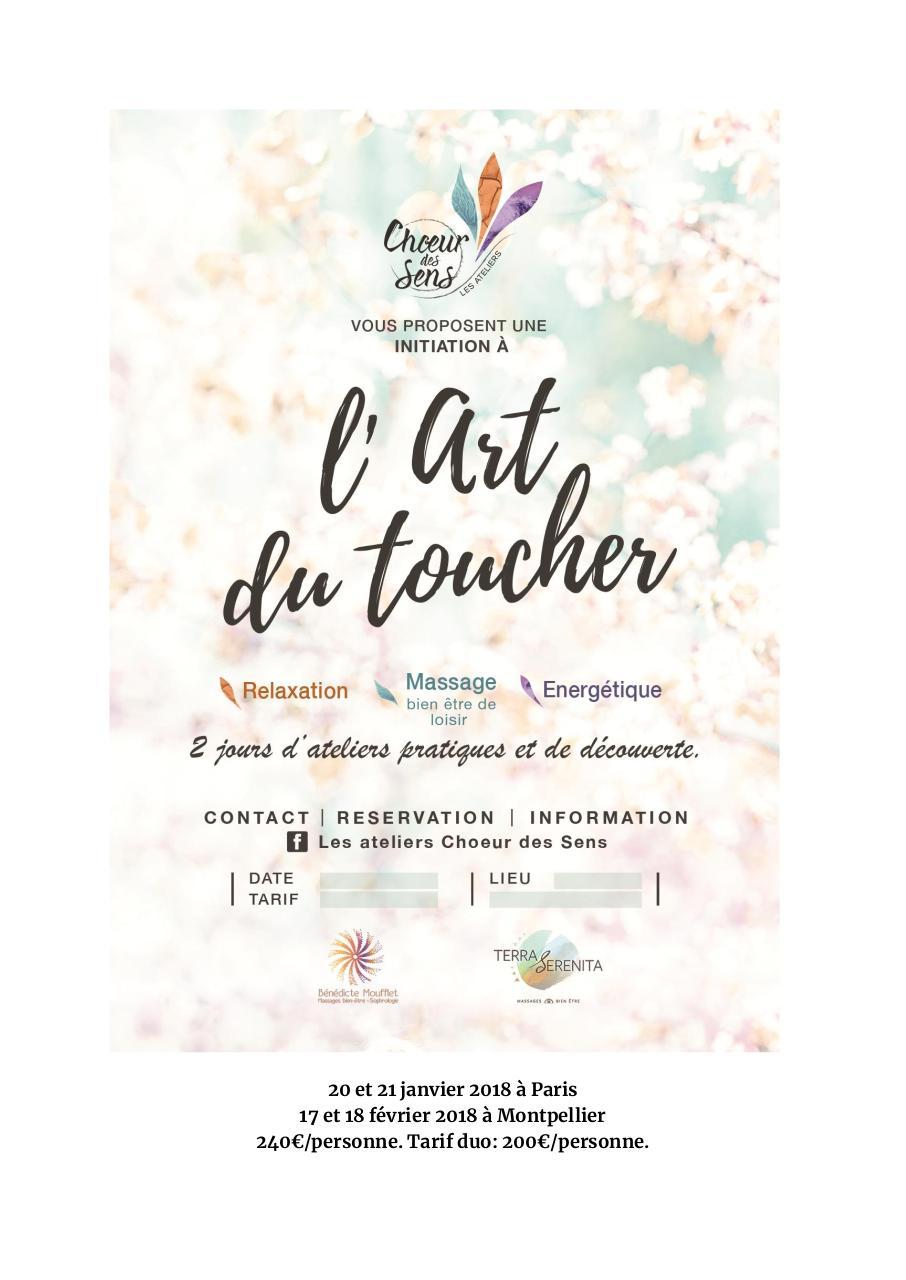 Programme Atelier Art Du Toucher Fichier Pdf