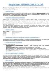 Fichier PDF reglement marmagne color 2018 3 pages