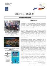 revue abibac n1 edition collector