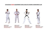 catalogue ados adultes vedene taekwondo club