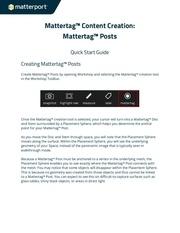 mattertagcontentcreationquickstartguide