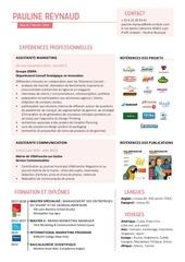 Fichier PDF pauline reynaud cv