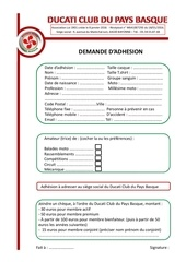 Fichier PDF demande d adhesion