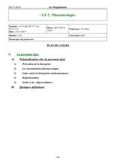 pharmacologie prdine21 11 17