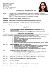 raphaele provost cv 2017